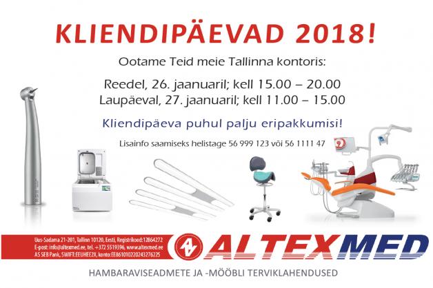(EE) KLIENDIPÄEVAD 2018!