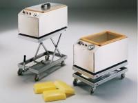 Ārstniecisko dūņu sildīšanas iekārtas